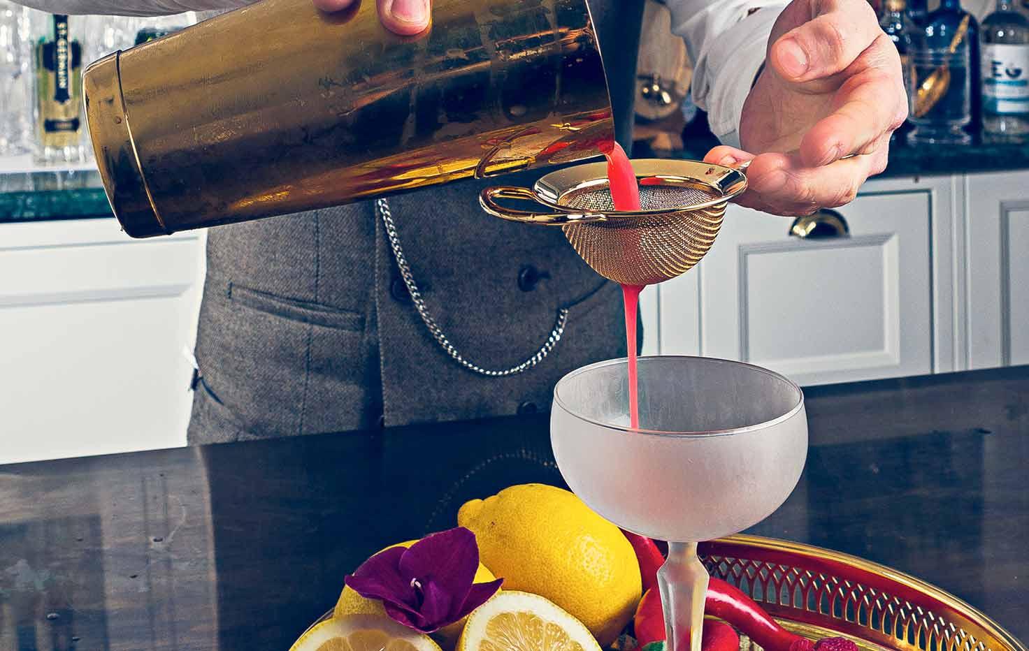 Drinkprovning på Falkenberg Strandbad är en uppskattad konferensaktivitet