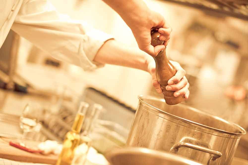 Matlagningstävling är en annorlunda konferensaktivitet på Falkenberg Strandbad som alla kan njuta av