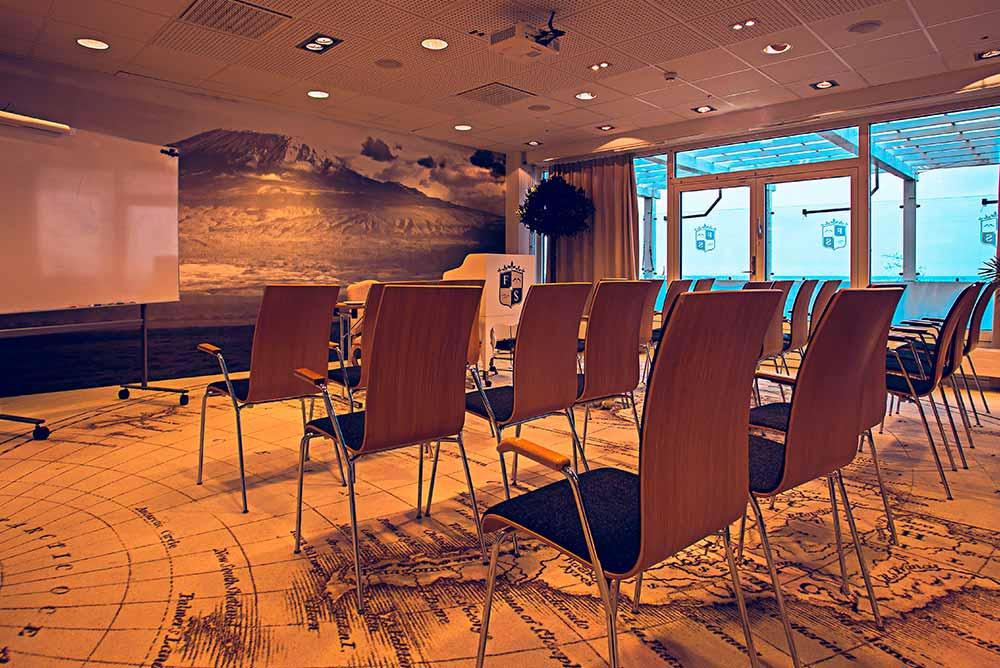 Modern konferenslokal att boka på Falkenberg Strandbad