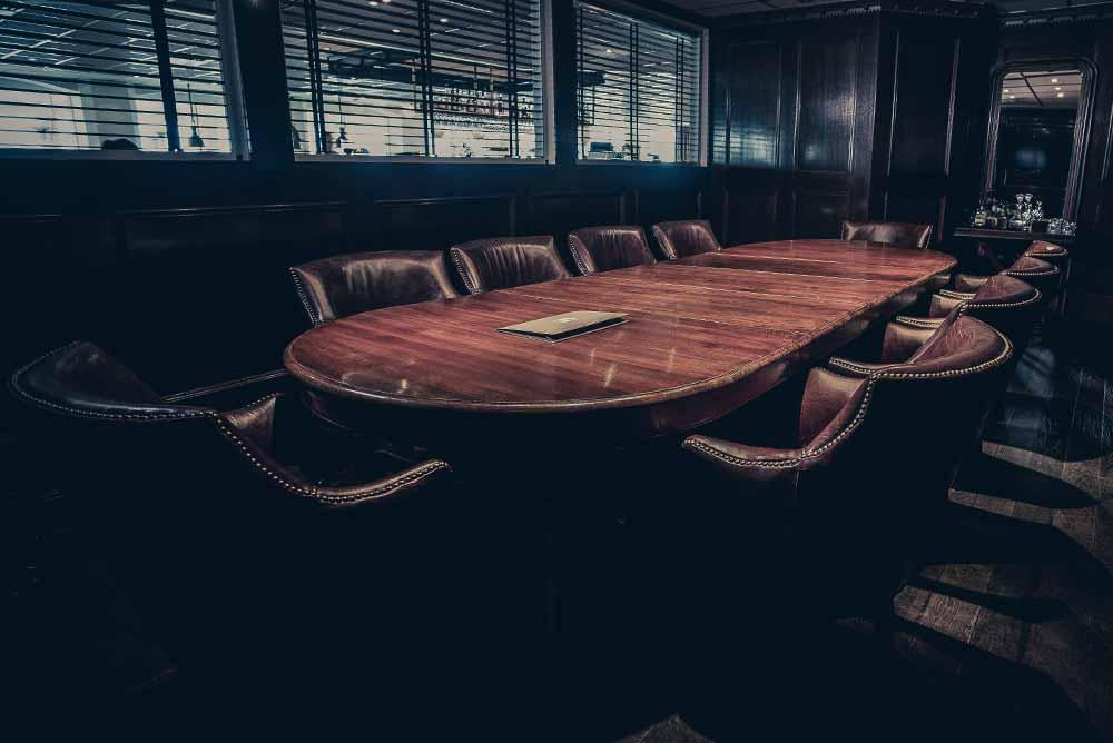 Konferensrum till förfogande om ni bokar konferens på Falkenberg Strandbad