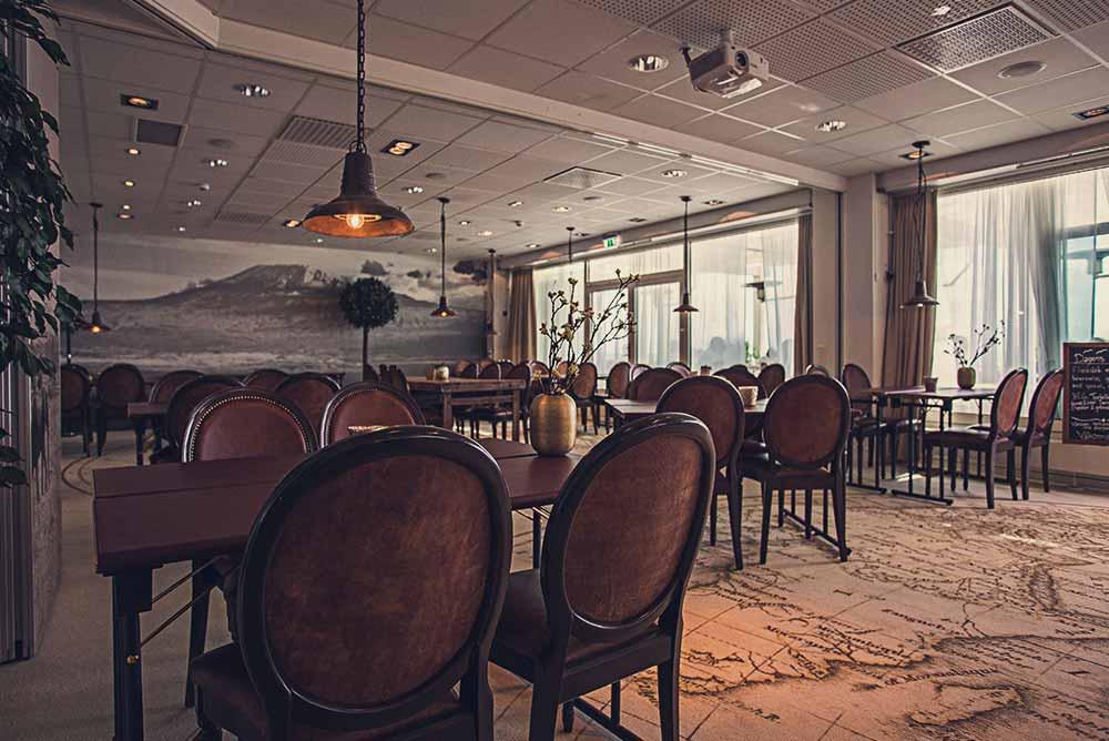 Stor, anpassningsbar konferenslokal på Falkenberg Strandbad