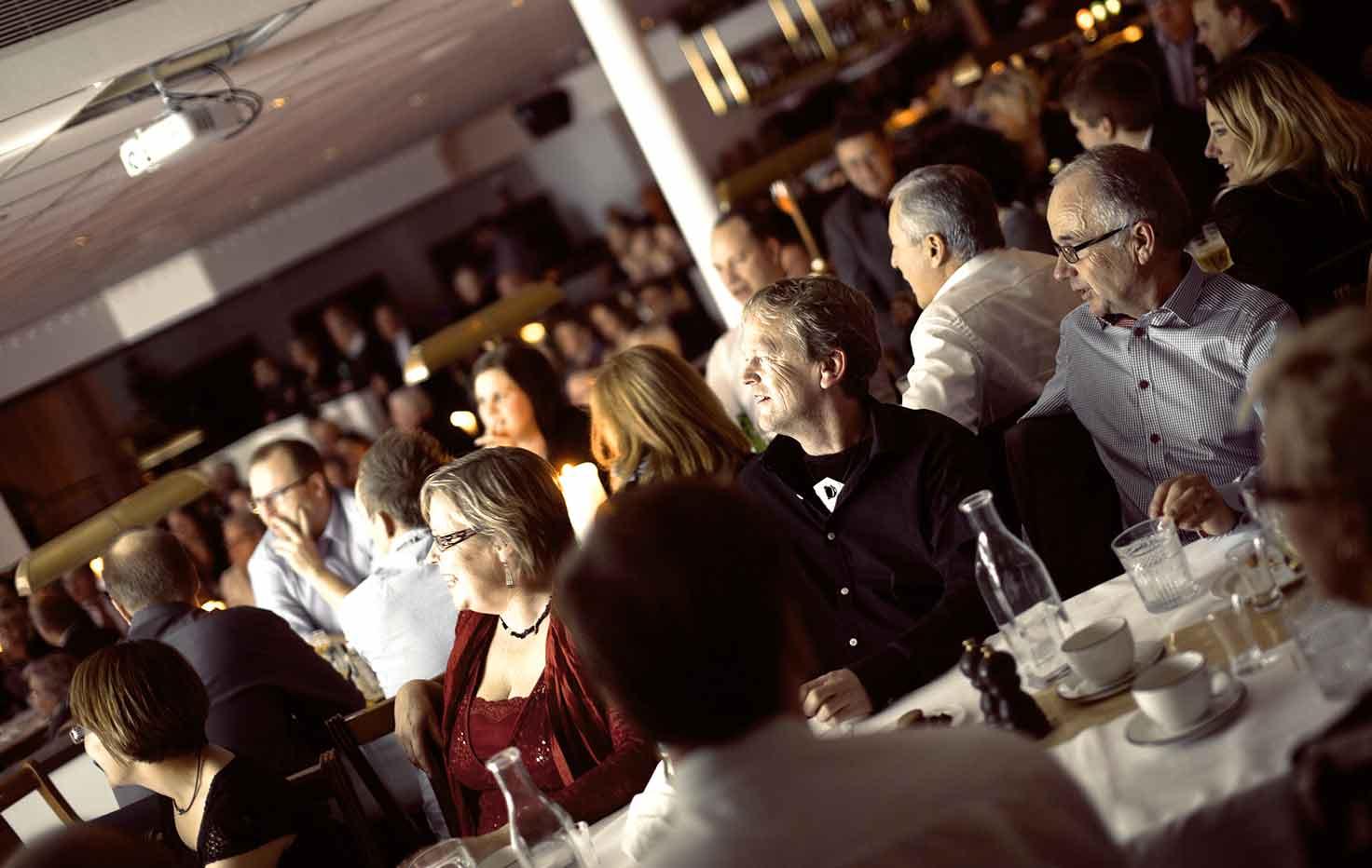 Boka en avslutande middag på kvällen efter er konferens på Falkenberg Strandbad
