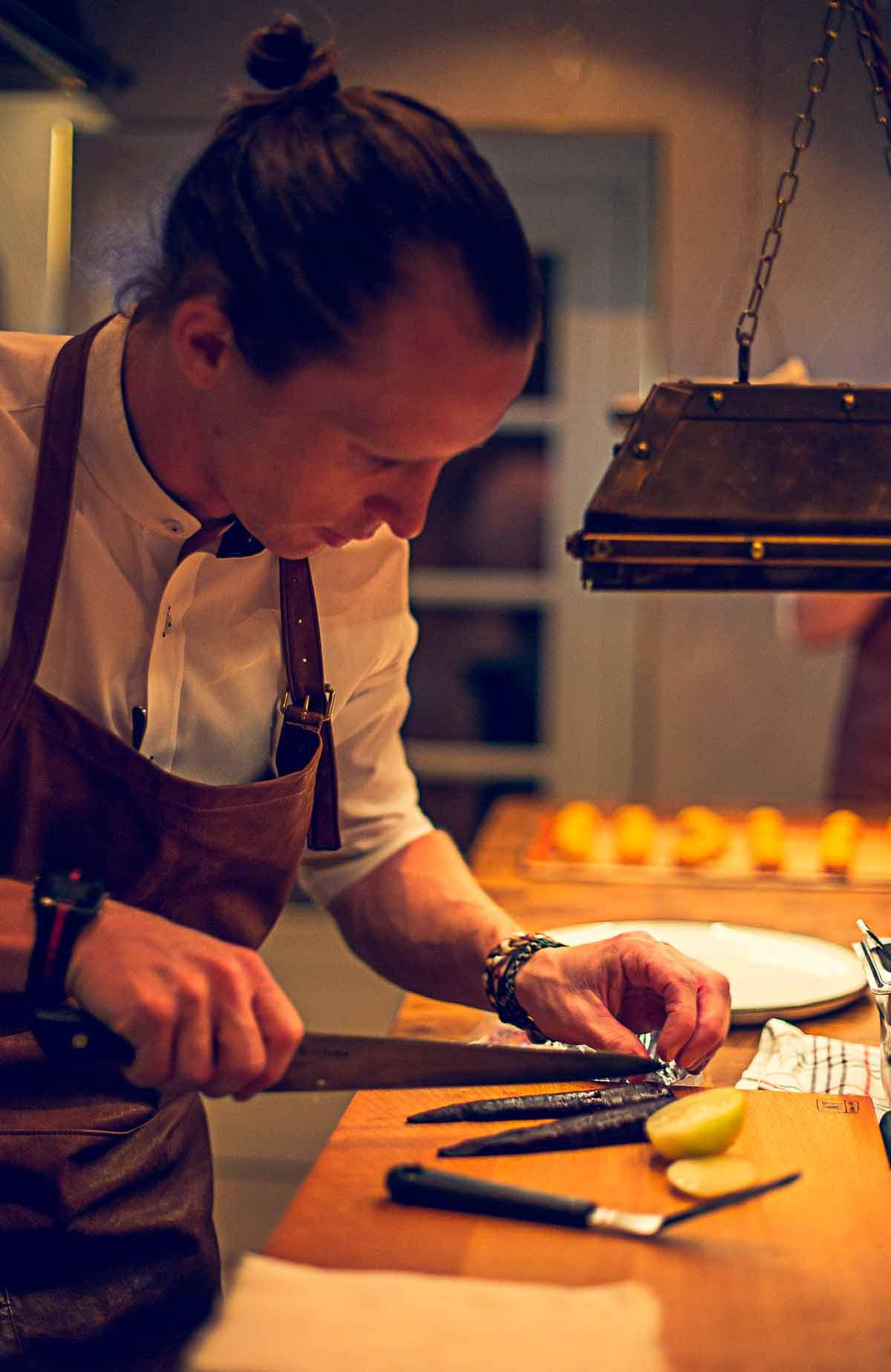Restaurang Köket på Falkenberg Strandbad bjuder på mathantverk i världsklass