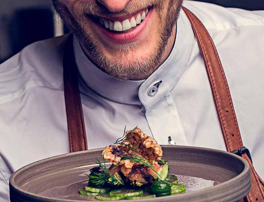 Matglädje i restaurang Köket på Falkenberg Strandbad