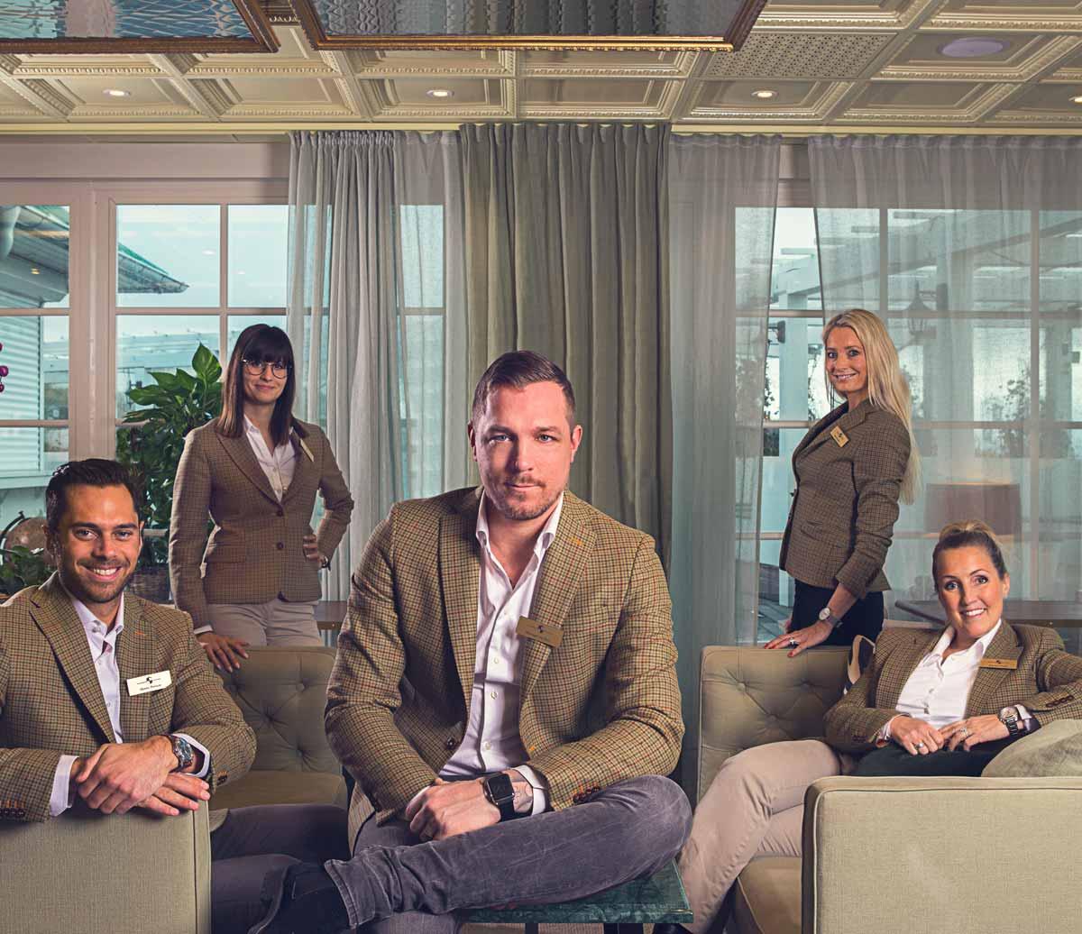Personalen på Falkenberg Strandbad som gör er konferens till den bästa