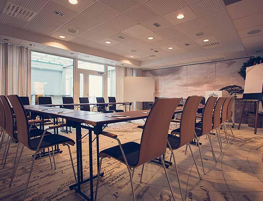 Modern konferenslokal för er konferens på Falkenberg Strandbad