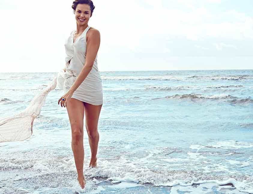 Vackra miljöer vid havet för bröllop på Falkenberg Strandbad