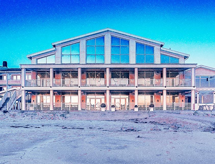 Frostigt Falkenberg Strandbad