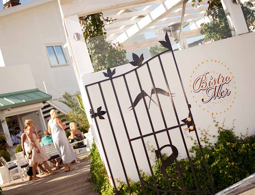 Bistro Mer - Sommarrestaurangen i Falkenberg Strandbad