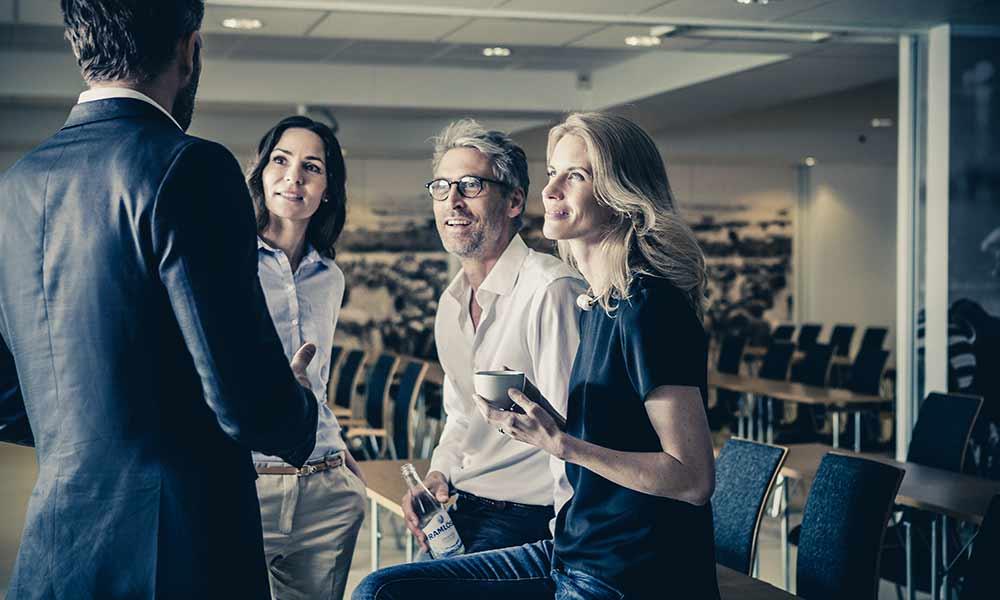 Konferens med företaget på Sveriges bästa konferensanläggning