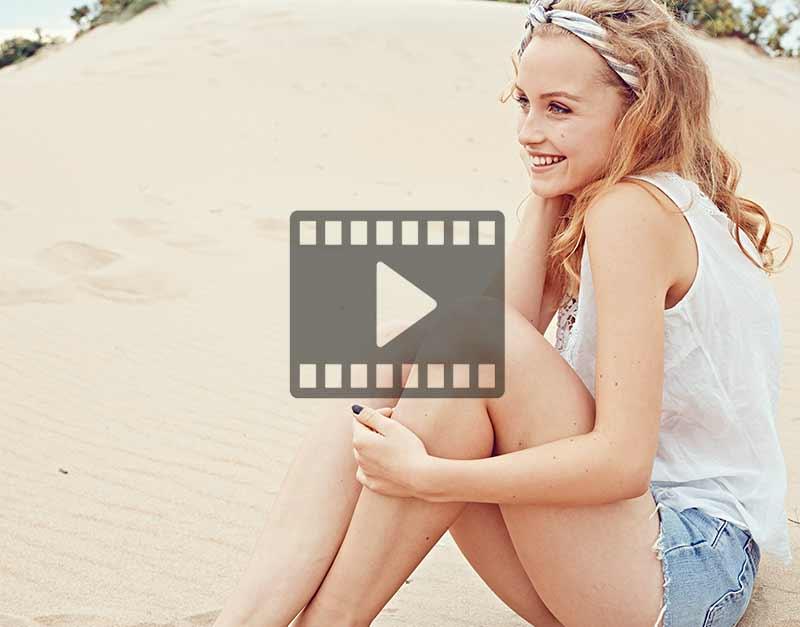 Filmer som visar Falkenberg Strandbad