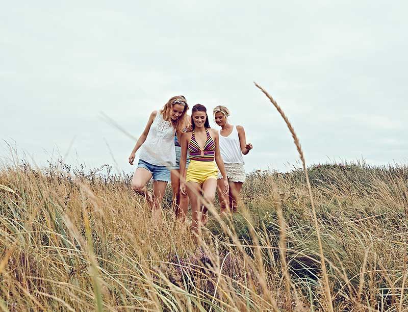 Boka en vistelse för dig och tjejerna på Falkenberg Strandbad