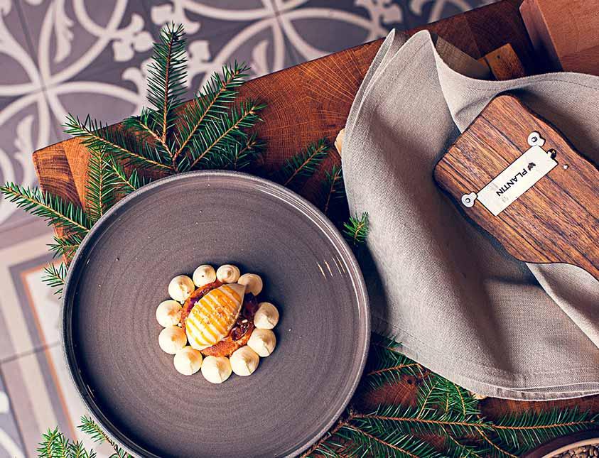 Ljuvlig mat på restaurang Köket på Falkenberg Strandbad